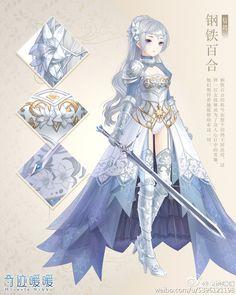 Female knight or warrior