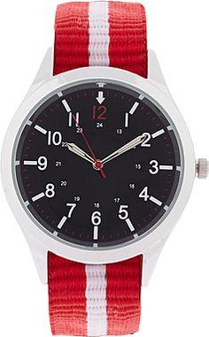 Asos Preppy Stripe Watch