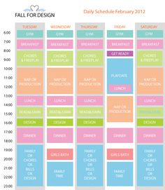 Daily Schedule of a stay at home mom Week Schedule, Working Mom Schedule, Family Schedule, Summer Schedule, Curriculum Mapping, Routine Planner, Stay At Home Mom, Time Management Tips, Mom Hacks