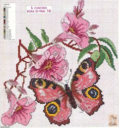 Cross-stitch Butterfly