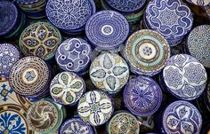 Moroccan pottery is a must for me.