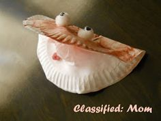 Classified: Mom: Under the Sea Kids Craft: Oyster