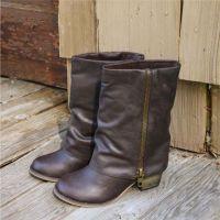 zipper boots @ $58... yes please!