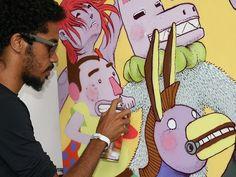 O grafiteiro Jota ZerOFF ganha uma exposição individual no espaço A Casa do Cachorro Preto, em Olinda, a partir deste domingo, dia 12. Saiba mais