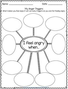 Anger Management Worksheets by Pathway 2 Success | TpT Anger Management Worksheets, Counseling Worksheets, Therapy Worksheets, Counseling Activities, Behavior Management, Classroom Management, Anger Management Activities For Kids, Stress Management, Emotions Activities