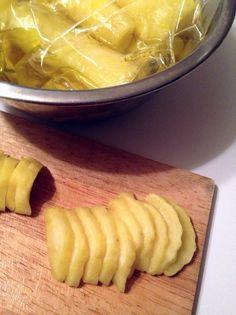 ジップロックで簡単!たくあん漬物 by Rizberry [クックパッド] 簡単おいしいみんなのレシピが223万品
