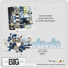 Scrapbooking TammyTags -- TT - Designer - Dream Big Designs,  TT - Item - Border, TT - Style - Cluster