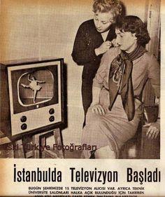İstanbul Teknik Üniversitesi'nde televizyon deneme yayınlarının başlaması 1953