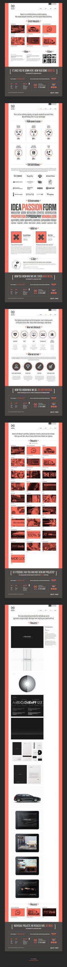 Necon Creative Agency - Website / Necon
