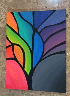 Ideas for painting abstract acrylic diy canvas ideas – Seidenmalen – – – Malerei Simple Canvas Paintings, Small Canvas Art, Easy Canvas Painting, Diy Canvas Art, Diy Painting, Canvas Ideas, Acrylic Canvas, Canvas Painting Designs, Watercolor Painting