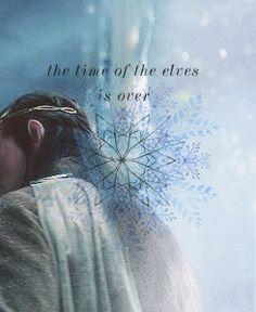 Elrond! Noooooooooooooooooooo The Elves are so helpful!!!! Men are still weak, LOL!!!!!