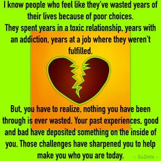WASTED YEARS ...
