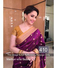 Bollywood Designer New Arrival Madhuri Dixit Saree