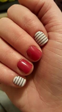 True Love and Country Club Jamberry manicure