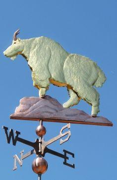 Goat Weathervane - Mountain - West Coast Weathervanes