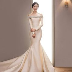 Like the beauty in this simple dress