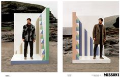 Missoni AW13 Campaign on Hungertv.com