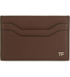 TOM FORD - Leather card holder | Selfridges.com
