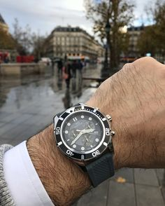 Don't let the rain stop you. Lasciva model PL44044.06 at $520 available online #hughcapet #swissmade photo by @patrickcolpron