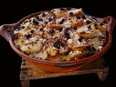 """""""Capirotada"""" The sweet part of Lent - Mexico Boutique Hotels Mexican Dishes, Mexican Food Recipes, Mexican Desserts, Mexican Cooking, Jalisco Recipe, Flan, Capirotada Recipe, Mexican Bread Pudding, Vegetable Stand"""