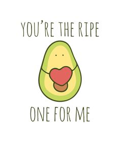Punny Puns, Cute Puns, Funny Love Cards, Cute Cards, Avocado Puns, Valentines Puns, Funny Doodles, Cool Birthday Cards, Food Puns