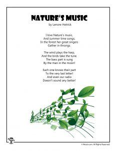 Nature Poems For Kids, Poetry For Kids, Kids Poems, English Poems For Children, Poems About Music, Summer Poems, Shel Silverstein Poems, Best Poetry Books, Rhymes For Kids