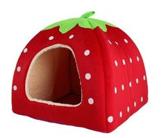 Strawberry House and hidey house for guinea pigs, rabbits and small animals…