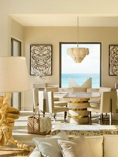 Viceroy Anguilla dining room -what a view!