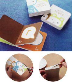 Make your own board book! Great idea :-)