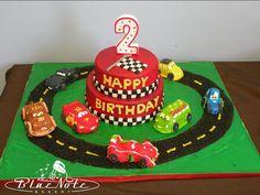 Disney's Cars cake | Blue Note Bakery - Austin, Texas