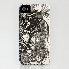 the end iPhone Case by Mariana Beldi - $35.00