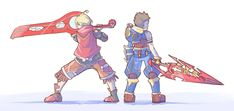 Xenoblades by lyiol on DeviantArt Fire Emblem, Xenoblade Chronicles Wii, Xeno Series, Character Art, Character Design, Everyday Life With Monsters, Best Rpg, A Hat In Time, Drawing Games