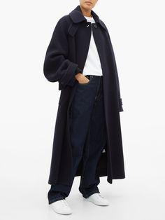 Oversized raglan-sleeve wool-blend coat | Raey | MATCHESFASHION UK