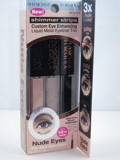 Physicians Formula Shimmer Strips Custom Eye Enhancing Liquid Metal Eyeliner Trio