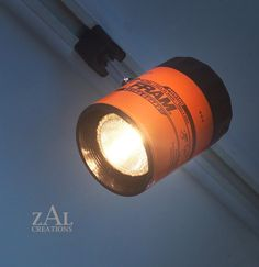 Pista de luz filtro de aceite cabeza de pista