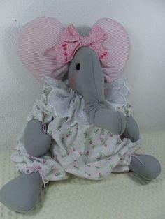 Bicho de Pano - Elefante Quarto Menina