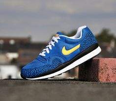 Nike Air Safari-Military Blue-Atomic Mango-Black-White
