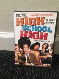 HIGH SCHOOL HIGH There's A New Teacha In The Hood Movie DVD