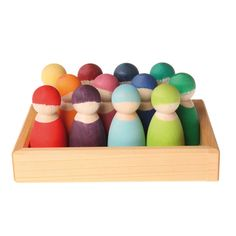 Want: these are stunning - would be amazing for so many different play experiences 12 Rainbow Friends