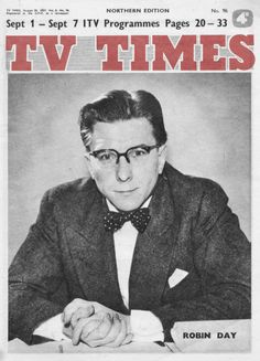So much more than TV times Robin Day, Printed Matter, Tv Times, Old Tv, Good Old, Old Pictures, Thought Provoking, Old Hollywood, Illusions
