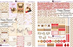 Dog Lovers Planner Stickers