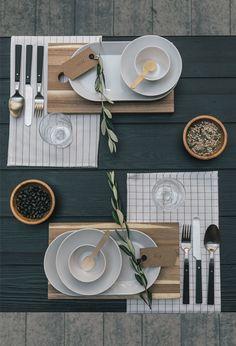 Een mooi gedekte tafel