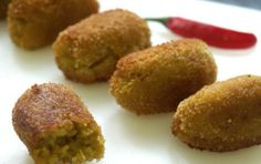 ok Croquetas Verduras (con Thermomix) Recetas saludables Spanish Dishes, Spanish Tapas, Boricua Recipes, Spanish Appetizers, Good Food, Yummy Food, Good Healthy Recipes, Food Hacks, I Foods