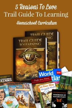 5 Reasons To Love Trail Guide To Learning Homeschool Curriculum - TheHomeschoolScientist.com