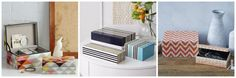 West Elm-Inspired Geometric Storage Box - Just a Girl and Her Blog