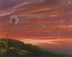 Surreal Painting by Vladmir Kush  I wish I could buy this for my mom. Incredible in person!!!!