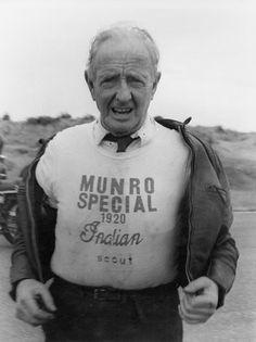 Bert Munro, from Invercargill, NZ. The worlds fastest!!