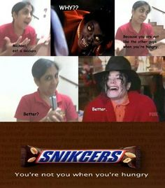 This is the best Snickers meme I've seen in forever!