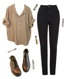 """ah man"" by unpleasantunicorn ❤ liked on Polyvore featuring Topshop"