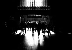 """Striking lighting in """"Grand Central"""" by Doug Geraghty."""